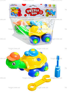 Детский конструктор «Черепаха», YZ1011