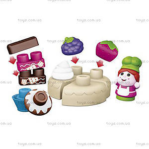 Конструктор Chicco «Приготовление пирожных», 30 элементов, 06814.00, купить
