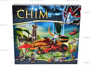 Конструктор Chim с героями и чимациклами, 22040, игрушки
