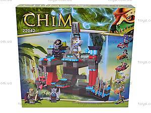 Конструктор Chim «Сторожевая башня» c чимациклами, 22042, детские игрушки