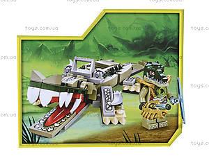Конструктор «Кроко-транспорт», 127 деталей, 98053-4, купить