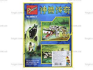 Конструктор «Кроко-транспорт», 127 деталей, 98053-4, цена