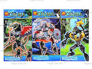 Детский конструктор Chima «Сила Чи», 70015-70020, игрушки