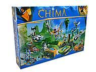 Конструктор Chimа «Герои на чимациклах», M7001-8, детские игрушки