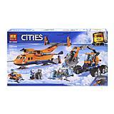 Конструктор «CITIES ARCTIC» «Арктичный грузовой самолет» (коробка) 731деталей, 10996, купить