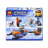 Конструктор «CITIES ARCTIC» «Полярные исследователи» (коробка) 88дететалей, 10992, фото