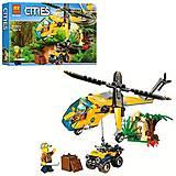 Конструктор «Cities: дикие джунгли», 216 дет., 10709, отзывы