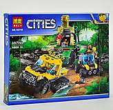 Конструктор «Cities: опасные джунгли», 397 дет, 10710