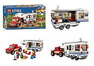 Конструктор «Пикап и фургон» 360 деталей, 10871, купить
