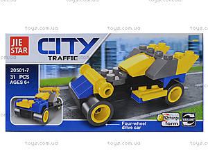 Детский конструктор «Городской транспорт», 20501, фото