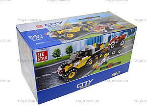 Детский конструктор «Городской транспорт», 20501, цена