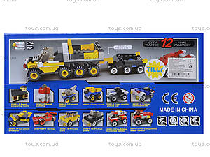 Детский конструктор «Городской транспорт», 20501, магазин игрушек
