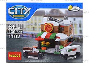 Конструктор для детей City, несколько видов, 1101-1104, цена