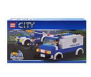 Конструктор CITY «Полицейская техника», 156 деталей, 81007