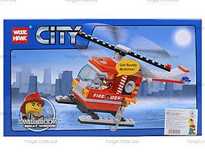 Конструктор «Вертолет пожарников», 98 деталей, 89003, купить