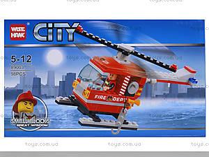 Конструктор «Вертолет пожарников», 98 деталей, 89003, отзывы