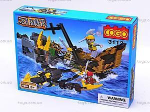 Конструктор COGO «Крушение корабля», CG3112
