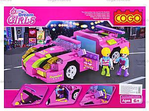 Конструктор Cogo Girls, 256 деталей, 4506, отзывы