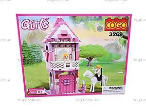 Конструктор Cogo «Башня принцессы», CG3269, фото