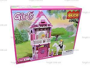 Конструктор Cogo «Башня принцессы», CG3269, отзывы