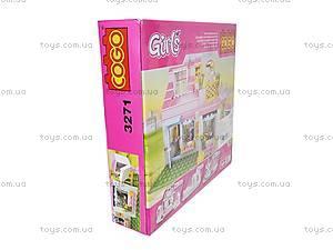 Конструктор Cogo «Девушка», CG3271, купить