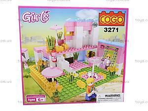 Конструктор Cogo «Девушка», CG3271, отзывы