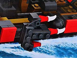 Конструктор Cogo «Галера», CG4308, игрушки