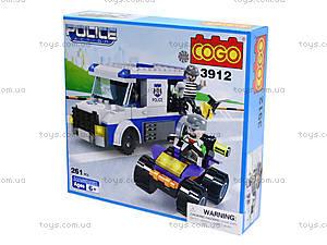 Конструктор COGO «Полицейский автобус», CG3912, купить