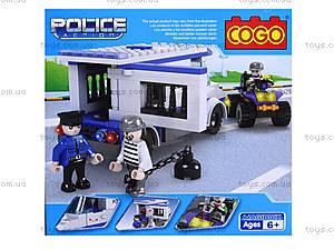 Конструктор COGO «Полицейский автобус», CG3912, фото