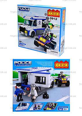 Конструктор COGO «Полицейский автобус», CG3912