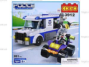Конструктор COGO «Полицейский автобус», CG3912, отзывы