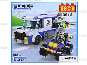 Конструктор COGO «Полицейский автобус», CG3912, цена