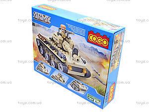 Детский конструктор «Военная техника», 192 деталей, CG3321, фото