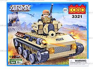 Детский конструктор «Военная техника», 192 деталей, CG3321, отзывы