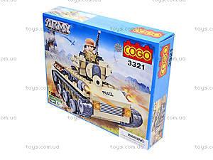 Детский конструктор «Военная техника», 192 деталей, CG3321, цена