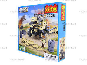 Конструктор «Военная техника», 192 детали, CG3328, купить