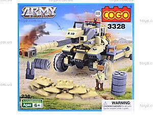 Конструктор «Военная техника», 192 детали, CG3328, фото