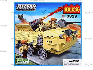 Игровой конструктор «Военная техника», 219 деталей, CG3329, отзывы