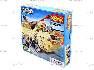 Игровой конструктор «Военная техника», 219 деталей, CG3329, цена