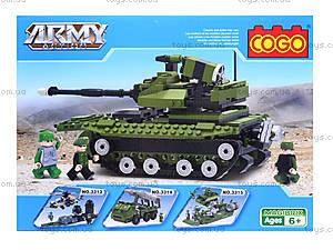 Конструктор COGO «Военный танк», CG3312, купить