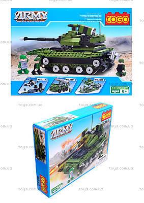 Конструктор COGO «Военный танк», CG3312