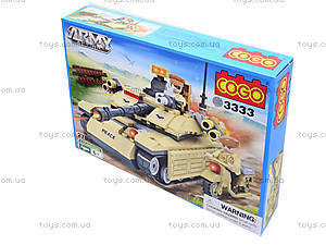 Детский конструктор «Военная техника», 278 деталей, CG3333, фото