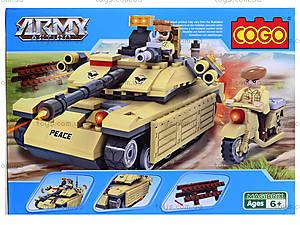Детский конструктор «Военная техника», 278 деталей, CG3333, отзывы