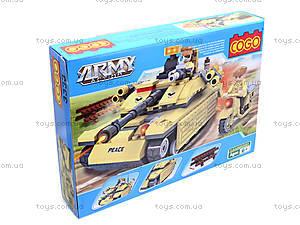 Детский конструктор «Военная техника», 278 деталей, CG3333, цена