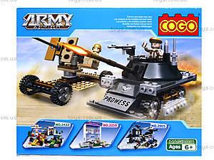 Конструктор COGO «Военная техника», CG3308, фото