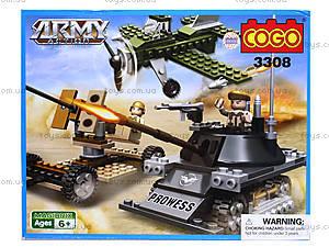 Конструктор COGO «Военная техника», CG3308, отзывы