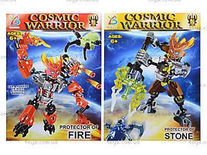 Конструктор Cosmic Warrior, 6 видов, F1506-4, отзывы