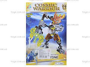 Детский конструктор «Cosmic Warrior» в коробке, F1506-1, фото