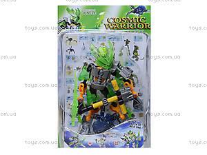Детский конструктор «Cosmic Warrior» в коробке, F1506-1, цена