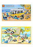 Конструктор CREATOR «Солнечный фургон серфингиста», 391 деталь, 11047, фото